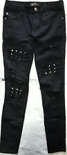 royal Bones tripp nyc hot topic studd ripped jeans women's size 0