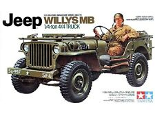 Tamiya 35219 Jeep Willys MB 1/4 Ton Truck 1/35 Scale Plastic Model Kit