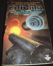 Enigma By Michael P. Kube-McDowell Berkley SF May 1986 Paperback