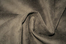 B17 DELUX LUXURIOUS PURE COTTON VELVET DARK EARTHY GREY TONES MADE IN ITALY 🇮🇹