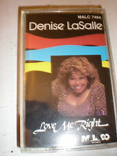 Denise LaSalle CASSETTE NEW Love Me Right