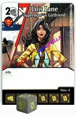 056 LOIS LANE: Supermant's Girlfriend-Common- WORLD'S FINEST Marvel Dice Masters