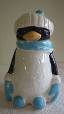 "Vintage Chilly Willy McCoy Cookie Jar Penguin #155 11.75"" Tall 8"" Wide"