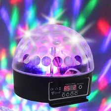 XL-10B LED Crystal Magic Ball Stage Light w/Special Effects Lighting (Black)