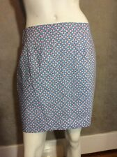 JL NEW NWT JUST MADRAS SKIRT NAUTICAL LUCY SIZE 10 Sailor