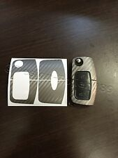 Carbonio Lamina di antracite Chiave Ford MK2 Galaxy C S Fiesta Smax CMax RS ST