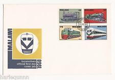 1968 LOCOMOTIVES FDC MALAWI - PB MALAWI POST MARK