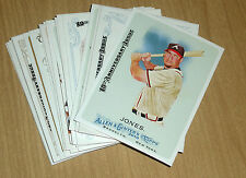 2015 Topps Allen/Ginter 10th anniversary stamped buyback 22-card lot CHEAP