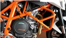 Orange Crash Bar Engine Guard Frame Protector For 2013-2015 KTM Duke 690