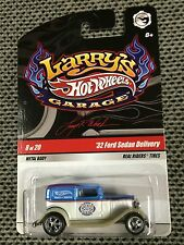 2009 Hot Wheels HTF Larry's Garage 1932 Ford Sedan Delivery Real Riders$$ L@@K!!