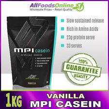 Mpi - Micellar Casein - Slow Release Protein - Mpi Casein - Vanilla - 1kg