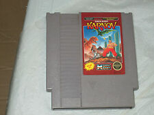 Karnov  (Nintendo Nes, 1988) cart only good