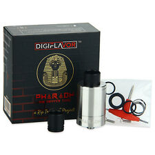 Authentic Digiflavor Pharaoh 25 Dripper Tank - Stainless Steel