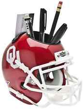 OKLAHOMA SOONERS NCAA Schutt Mini Football Helmet DESK CADDY