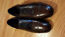 New Florsheim Burgundy Cap Toe dress shoes, size 9.5d