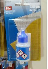 PRYM FRAY CHECK - WATER RESISTANT EDGING GLUE - SEWING,QUILTING-,HAIR EXTENSION