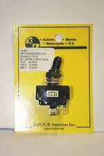 K-FOUR [K-4] OFF-(ON) TRIPLE SEALED MOMENTARY SWITCH -12VDC-20A (13-201)