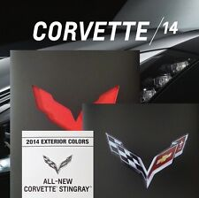 CORVETTE STINGRAY 2014 BOOK + BROCHURE + CHART - CHEVROLET Z51 LT1 CONVERTIBLE