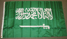 3X5 SAUDI ARABIA FLAG ARAB FLAGS ARABIAN NEW F193
