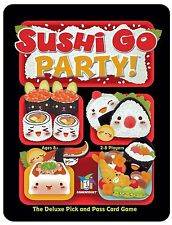 Sushi Go Party!: Deluxe Pick and Pass Card Game by Gamewright  Ages 8+  2-8 play