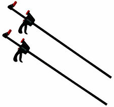 "2pc Quick Grip Ratchet Vice Bar Large Clamps 36"" / 900mm Rapid Clamp Set"