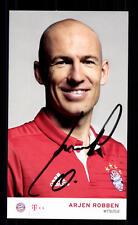Arjen Robben Autogrammkarte Bayern München 2016-07 Original Signiert+ C 2907