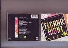 cd techno night - bon etat correct -