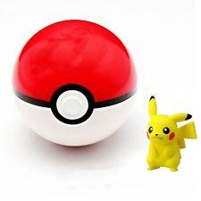 3D Pokemon Pokeball Pop-up 7cm Plastic BALL Toy Action Figure+Poket Monster Toys