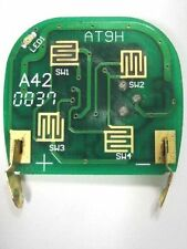 aftermarket APS2K4SAW keyless remote clicker transmitter - circuit board ONLY