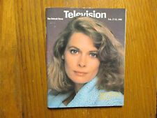 Feb.17-1985 Detroit News Television Magazine(KATHRYN HARROLD/MacGRUDER AND LOUD)