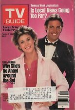 1984 TV GUIDE Kate jackson and Bruce Boxleitner of Mrs. King Feb 11-17
