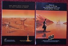 Lot of 20 Diff Johnnie Walker Black Label Scotch Whiskey Print Ads ~ Full Page