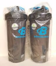 2 Pack - BodyBuilding Blender Bottle 28 Oz With Blender Ball Protein Shaker