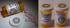 LOST Lot de 2 Tubes medicaments station medicale Lost Dharma staff 2 pill boxes