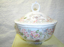 BRAMBLY HEDGE ROYAL DOULTON POPPYS BEDROOM POWDER BOWL BOXED 1ST QUALITY