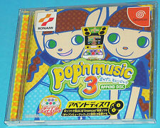 Pop'n Music 3 Append Disc - Sega Dreamcast DC - Japan JAP