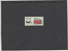 GB 2016  Post & Go Postal Museum Heritage Transport single 1st class stamp mint