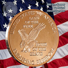 Enduring Freedom 1 oz .999 Copper Round