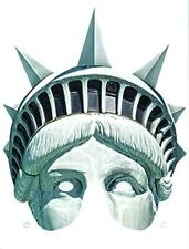 STATUE OF LIBERTY HALF-MASK American Independence Day Party Accessory SLIBE01