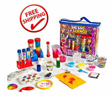 CHEMISTRY Big Bag of Science Educational Kit for Kids Childs Toddlers Toys NEW