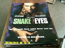 Snake |Eyes (nicholas cage)  Movie Poster A2