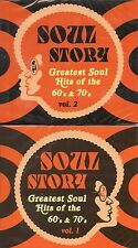 4 CD SET Soul Story - Greatest Soul Hits of the 60's & 70's Volume 1and 2 (4 CD