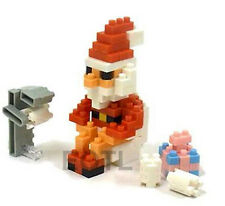NANOBLOCK Santa on the Dunny - Nano Block Micro-Sized Building Blocks NBC-156