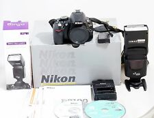 Nikon D3100 14.2MP Digital SLR Camera Body and Flash