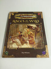 D&D Races of the Wild HC ~ Dungeons and Dragons 3.0/3.5