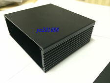 Black DIY Aluminum Project Box Enclosure case Electronic 100x110x40mm(L*W*H)