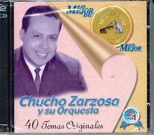 Chucho Zarzosa y Su Orquesta LO MEJOR 40 TEMAS  BRAND NEW FACTORY SEALED   2 CDS