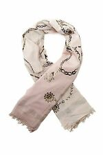 NWT $216 Leigh & Luca Silk Blend Jewelry Foil Square Scarf [48 x 48]