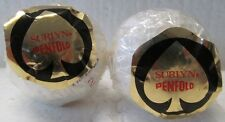 2 WRAPPED  GOLF BALLS-PENFOLD SURLYN'S WITH HARRODS ON EACH BALL