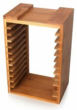 Bamboo Blu-ray PS4 PS3 Storage Stand Fits 12